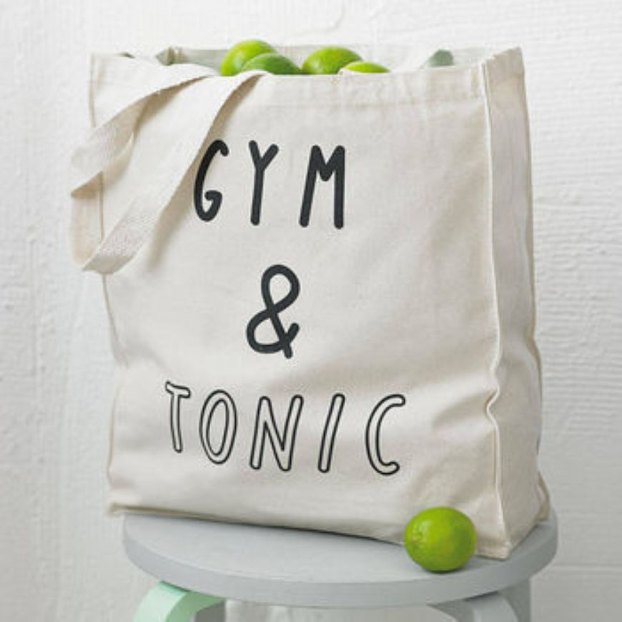 Normal Gym And Tonic Tote Bag