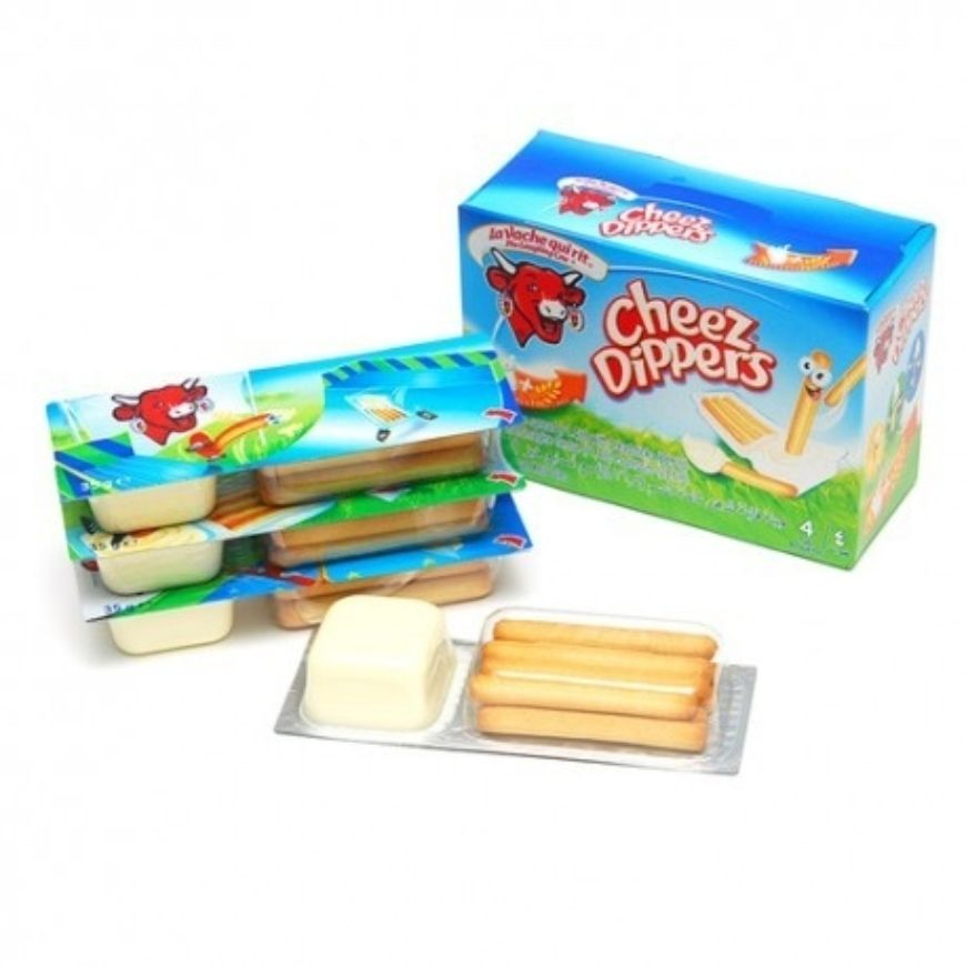 Laughing Cow Cheese Dippers 35G X4Ea