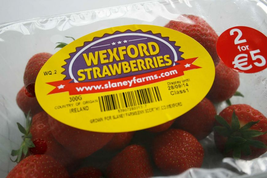 Packaging Design Wexford Wexford Strawberries Labels2