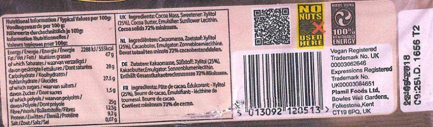 Plamil Chocolate Nut Statement 11