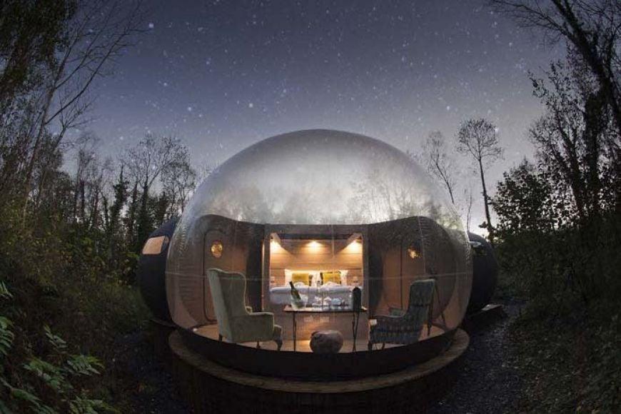 Finn Lough Bubble Domes Fermanagh Northern Ireland Melanie May 45 1