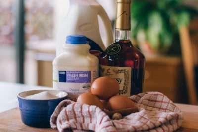 Egg Nog Ingredients
