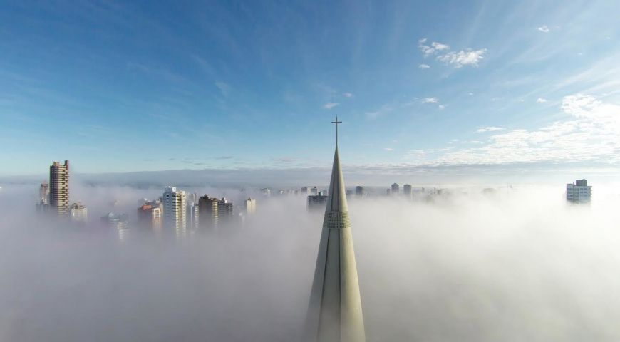 1st  Prize  Category  Places  Above The Mist  Maring  Paran  Brazil By  Ricardo  Matiello