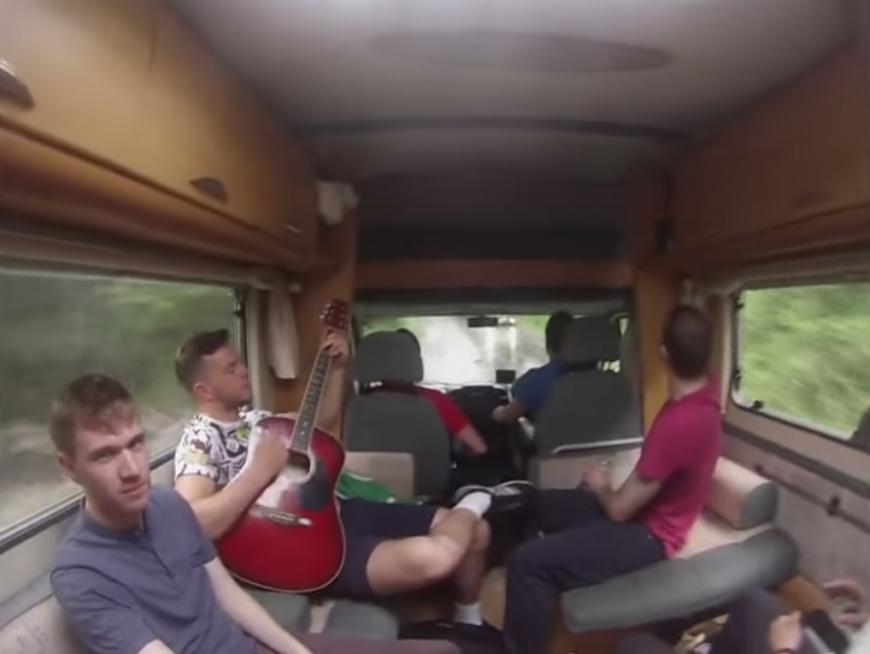 6-Lads-Campervan-Video