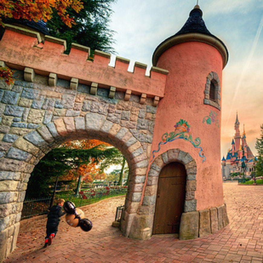 Coloured-Walkway