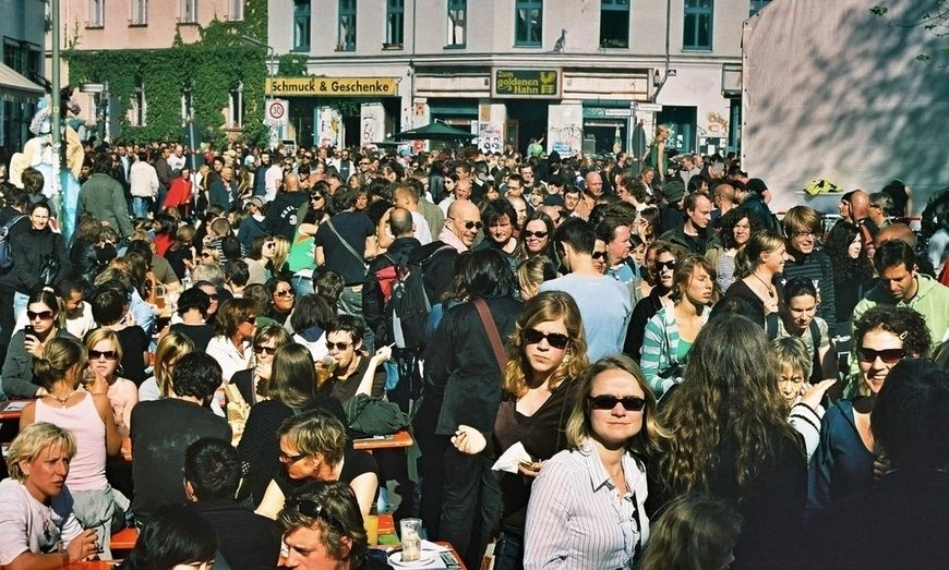 Crowd at the MyFest in Berlin Kreuzberg