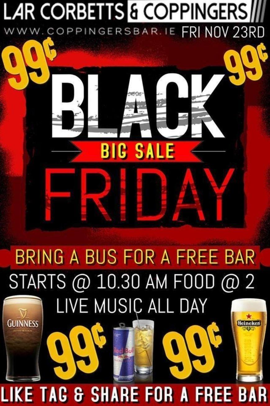 Black Friday Pints