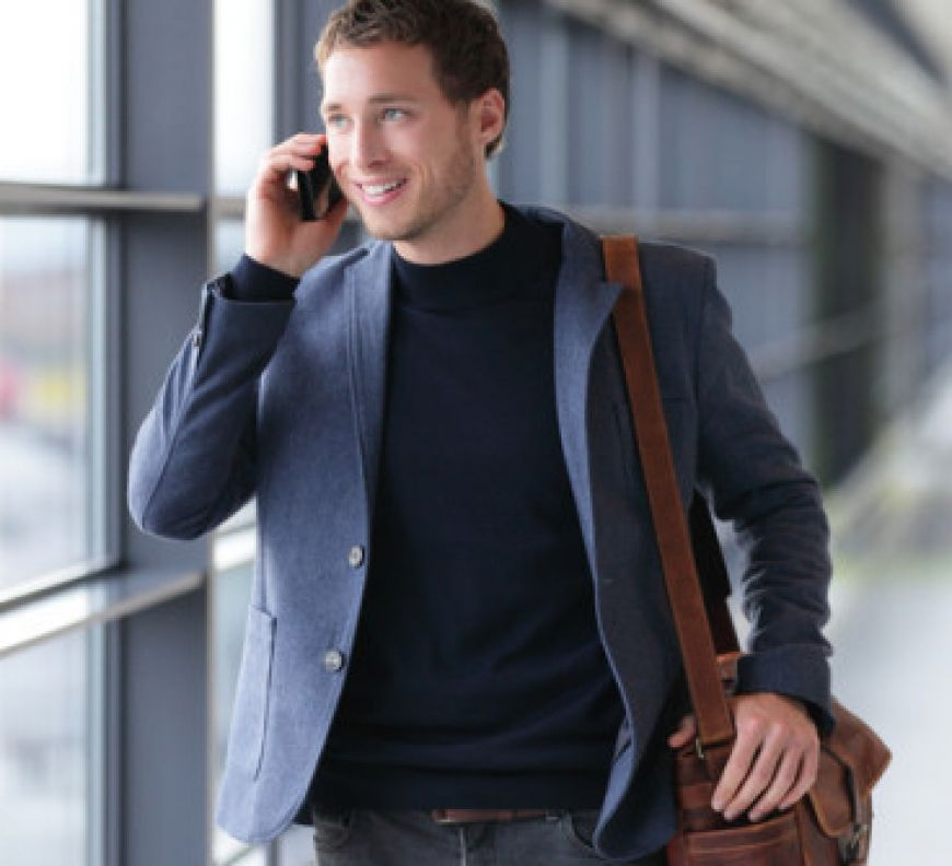 Businessman-Talking-On-A-Phone-Loudly