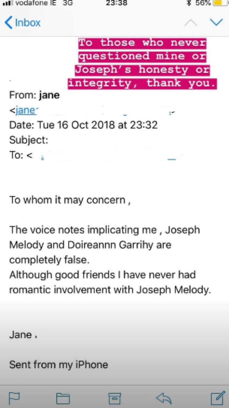 Doireann Garrihy Voice Notes 1