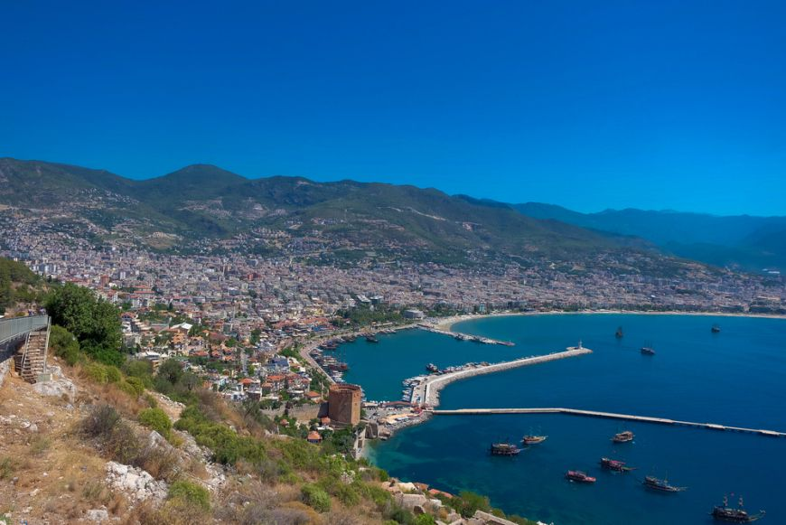 Kleopatra Beach Alanya Turkey