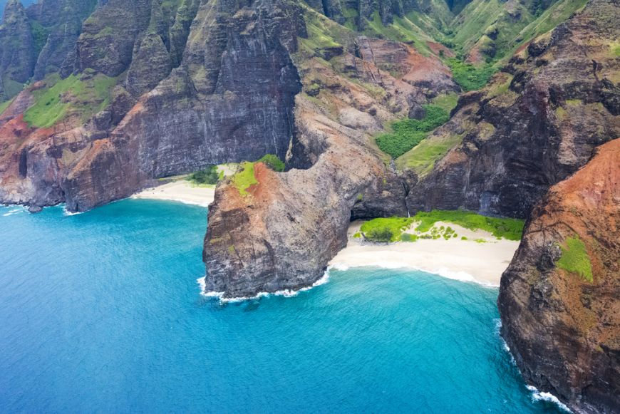 Honopu Beach Kauai Hi