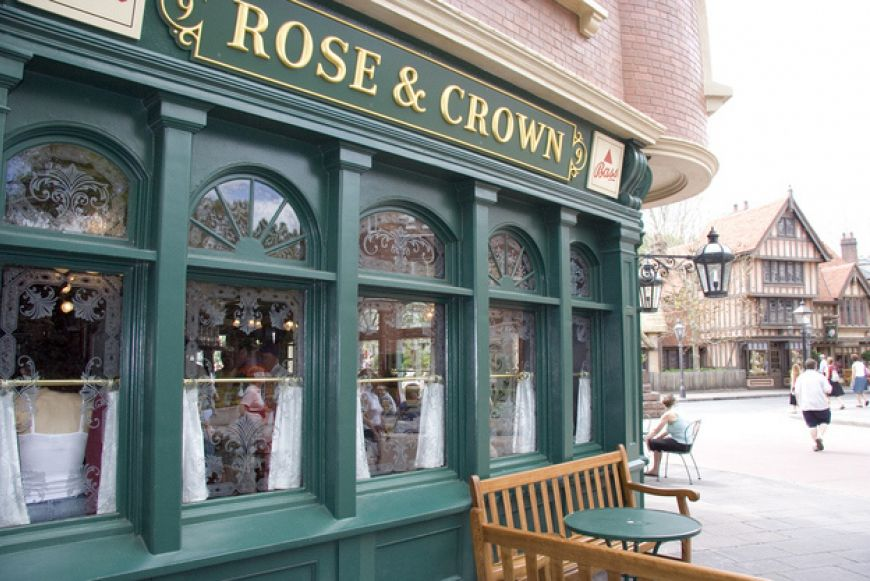 In-the-United-Kingdom-pavilion-the-Rose-and-Crown-got-its-name-from-the-two-most-common-words-found-in-pub-names-in-the-United-Kingdom