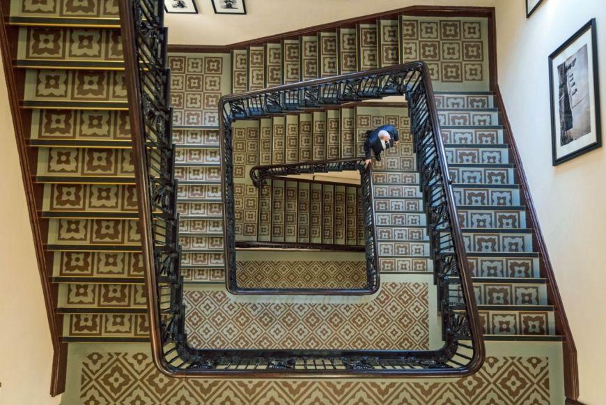 Interiors Stairs Titanic Ho