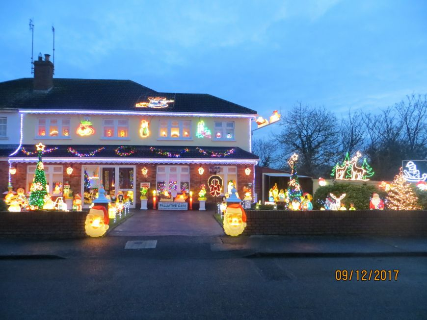 Irelands Most Christmassy Home 2017 Runner Up Michael Giblin Drogheda Co Louth
