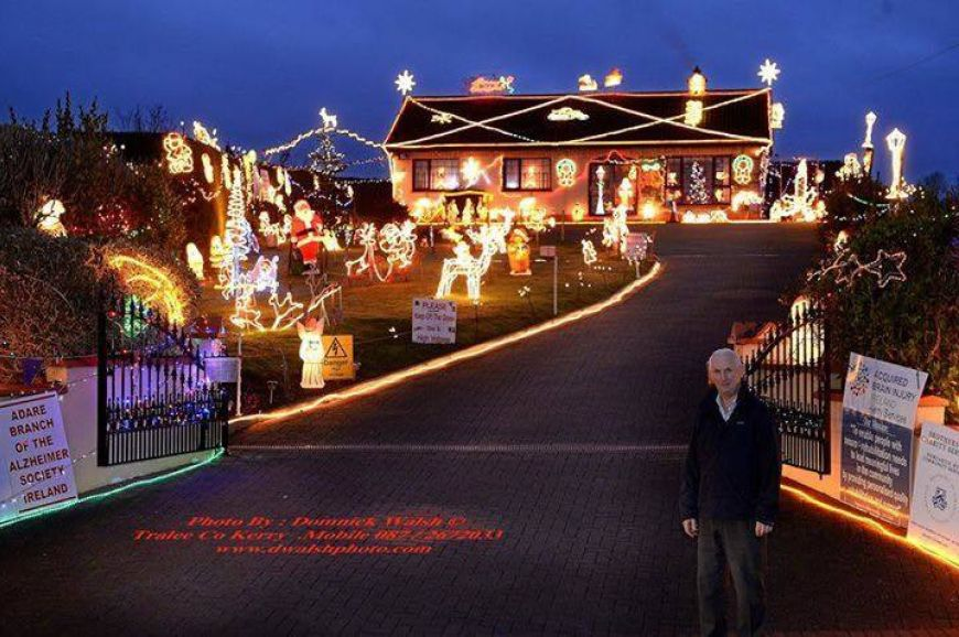 Irelands Most Christmassy Home 2017 Runner Up Tony Noonan Templeglantine Co Limerick