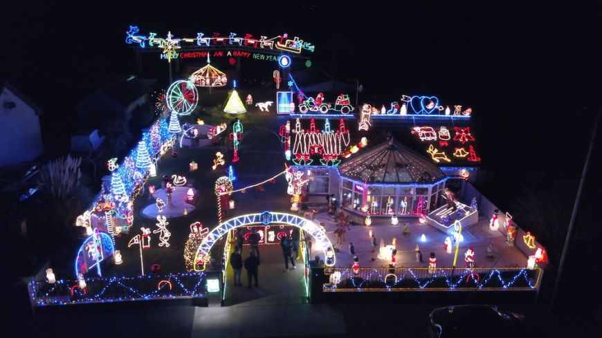 Irelands Most Christmassy Home 2017 Winner Tony Fitzpatrick Drinagh Co Wexford