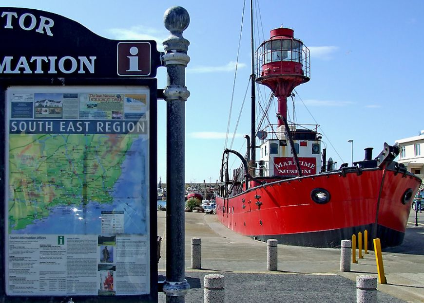 Irish Lightvessel Kilmore Quay Maritime Museum