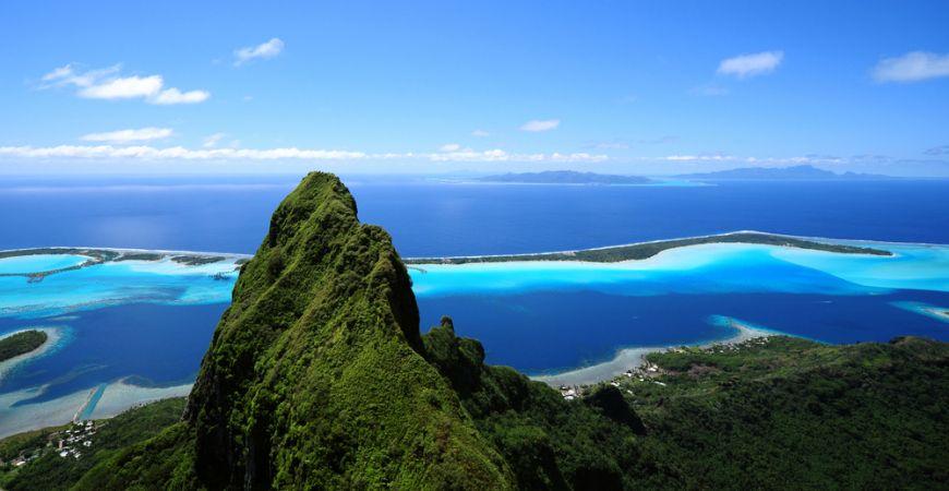 Matira Beach Bora Bora French Polynesia Main