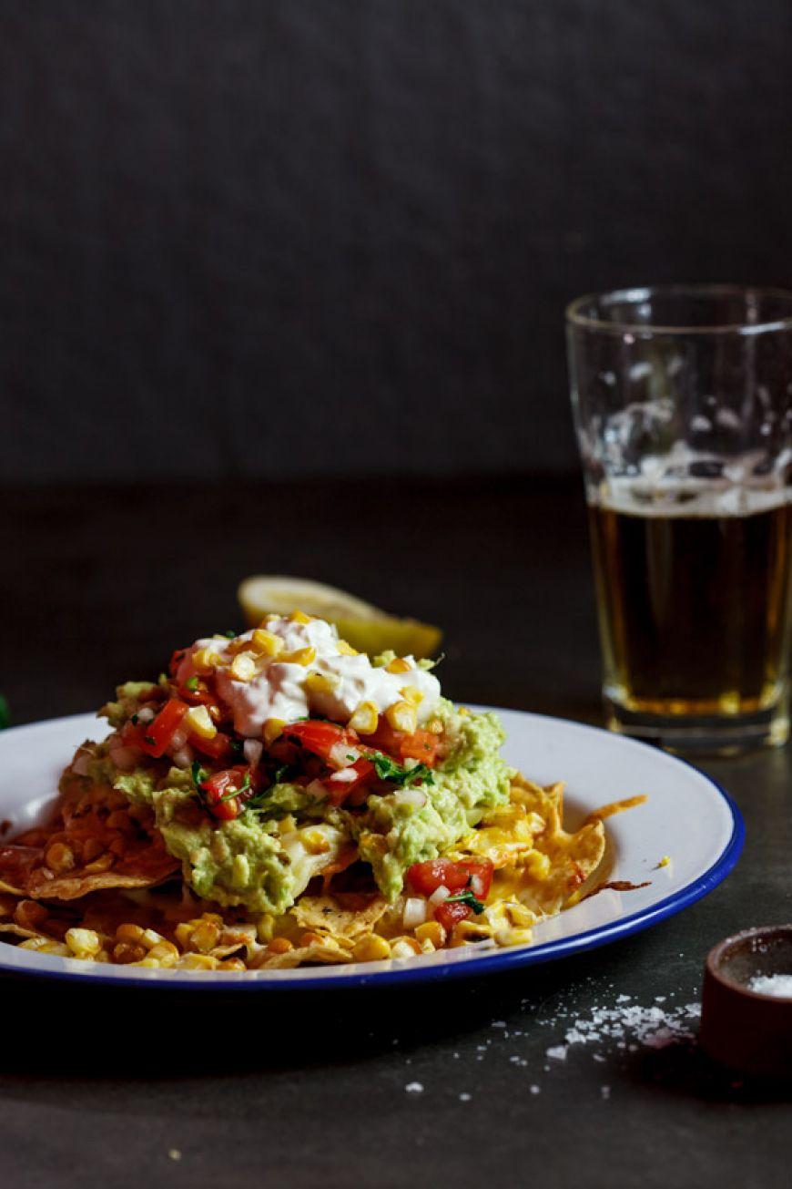Nachos-with-grilled-corn