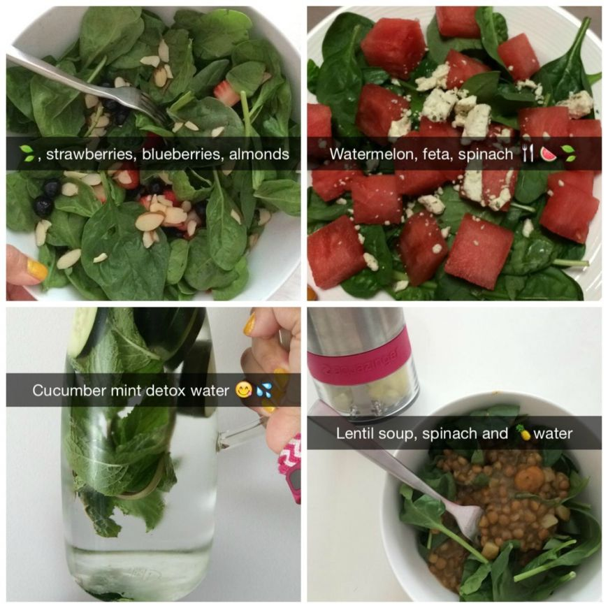 Snapchat Food Collage1