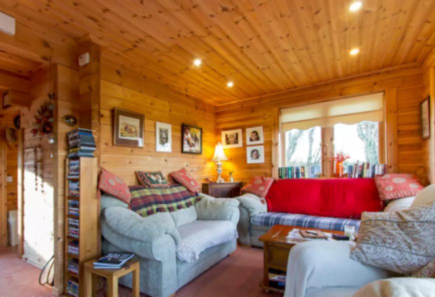 Sitting Room Log Cabin