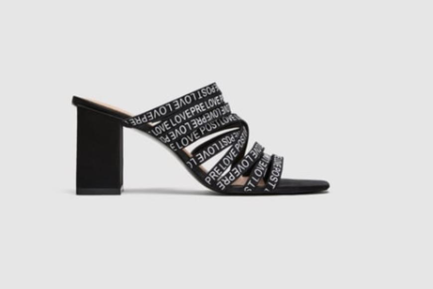 Slogan Sandals