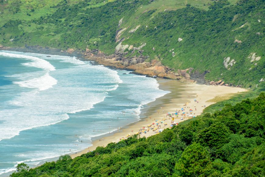 Praia Mole Florianopolis Brazil