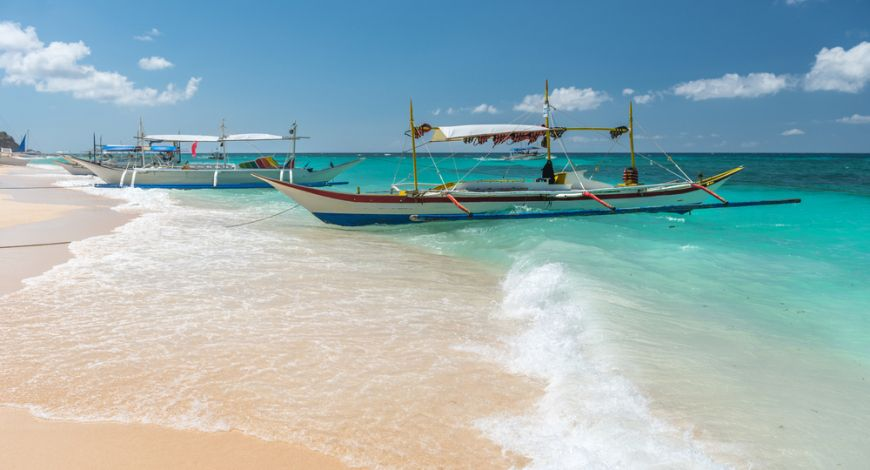 Puka Beach Yapak Boracay Philippines