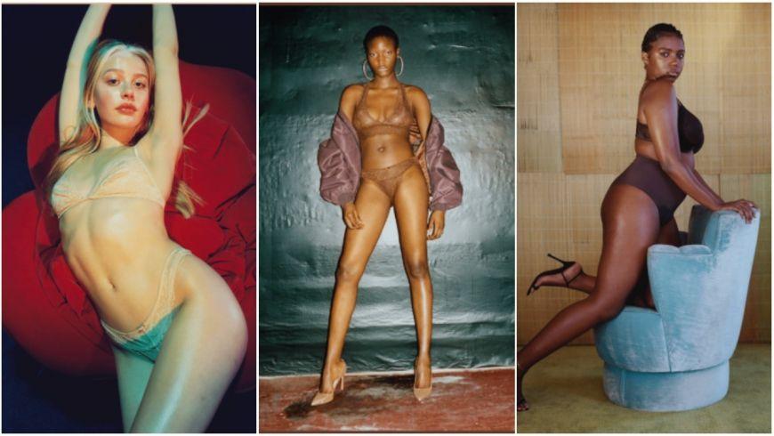 Rhianna Nude Lingerie