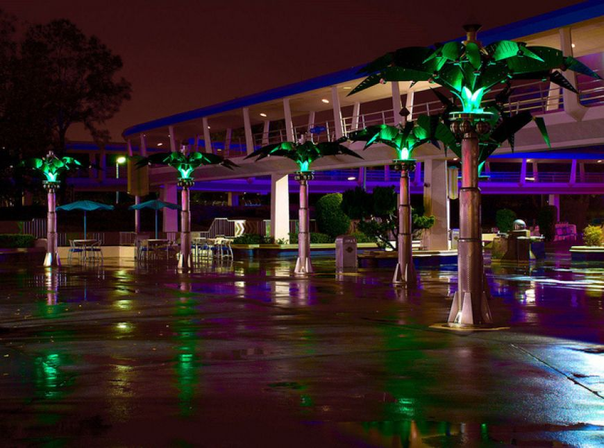 The-futuristic-palm-trees-in-Tomorrowland-actually-fold-up-at-dusk-and-unfold-at-dawn