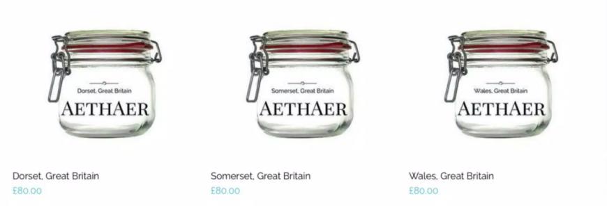 Aethaer Jars