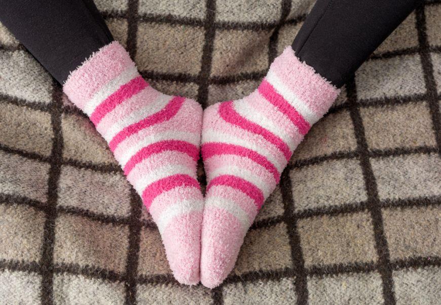 Fluffy Socks Pink