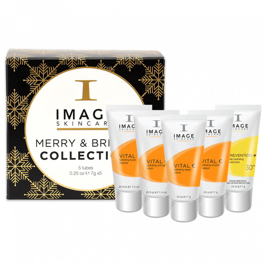 Individual Holiday Productmerry  Bright Stocking Stuffer With Products Front