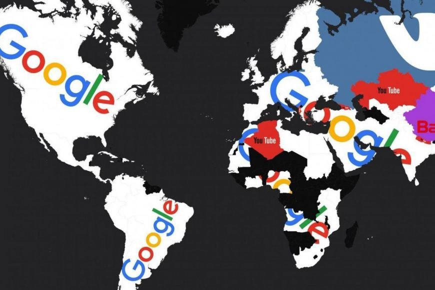 Most Popular Websites By Country