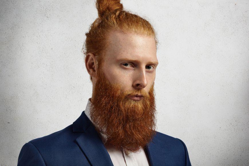 Man Bun And Beard