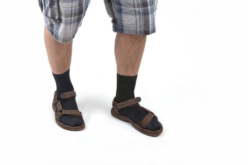 Sock And Sandals