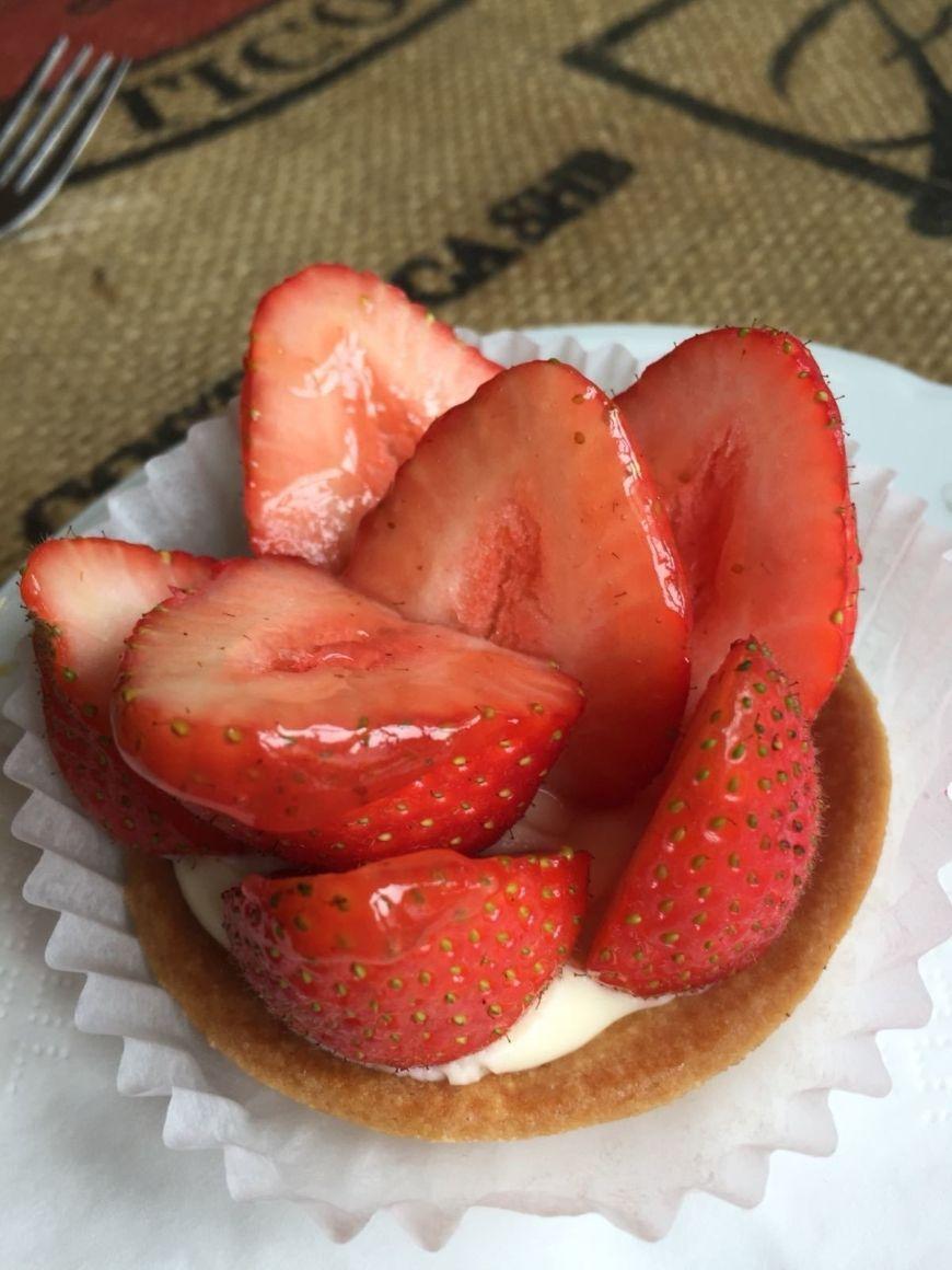 Petit Delice Strawberry Tart