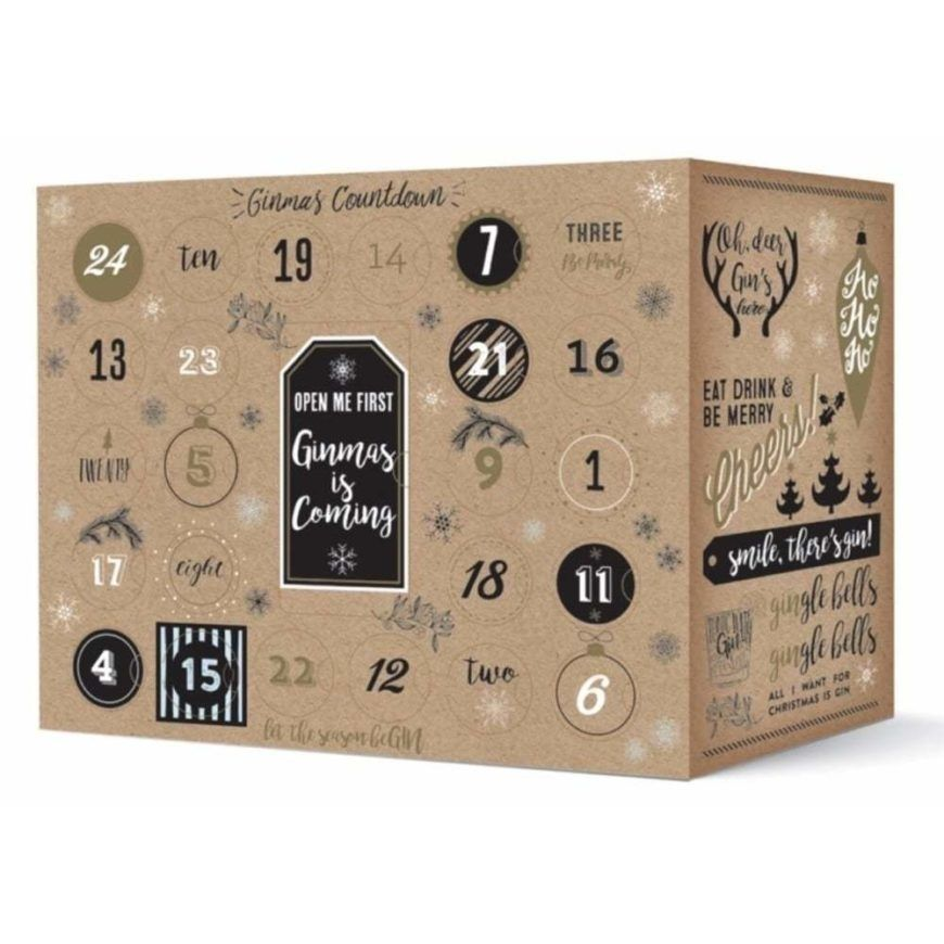 The Pip Stop Gin And Tonic Advent Calendar Pre Order P773 656 Image