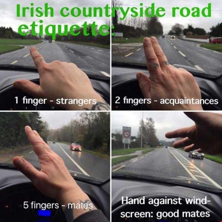 Zzz Irish Road Etiquette Large