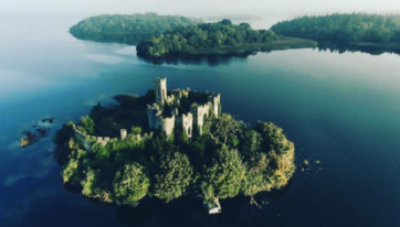 This Irish Castle On An Island Is Like Something From A Fairytale