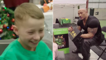 WATCH: This Kildare Boy Meeting His Idol The Rock Is Guaranteed To Put A Smile On Your Face