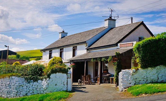 Wicklow - the dying cow pub
