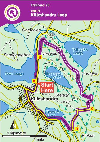 Cavan trail article map
