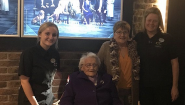 103-Year-Old Ruby's First Trip To The Cinema After 80 Years  Between Visits