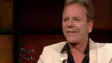 WATCH: Actor Kiefer Sutherland describes a rather bizarre night out in Dublin with Pogues frontman Shane McGowan