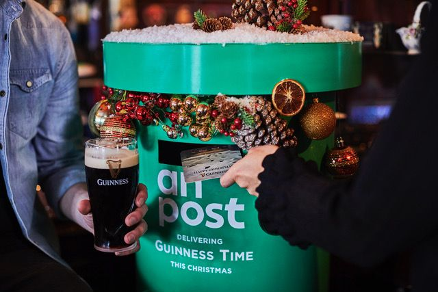 The Guinness post box