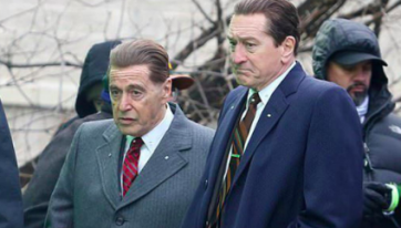 This guide to watching The Irishman as a mini-series is going viral