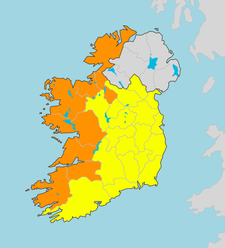 Storm Atiyah will affect most of Ireland