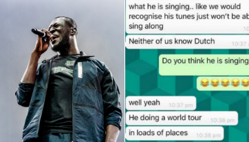 Stormzy shares hilarious text exchange as his world tour tickets are released