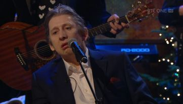 WATCH: Shane MacGowan closes out Late Late Show with Fairytale of New York